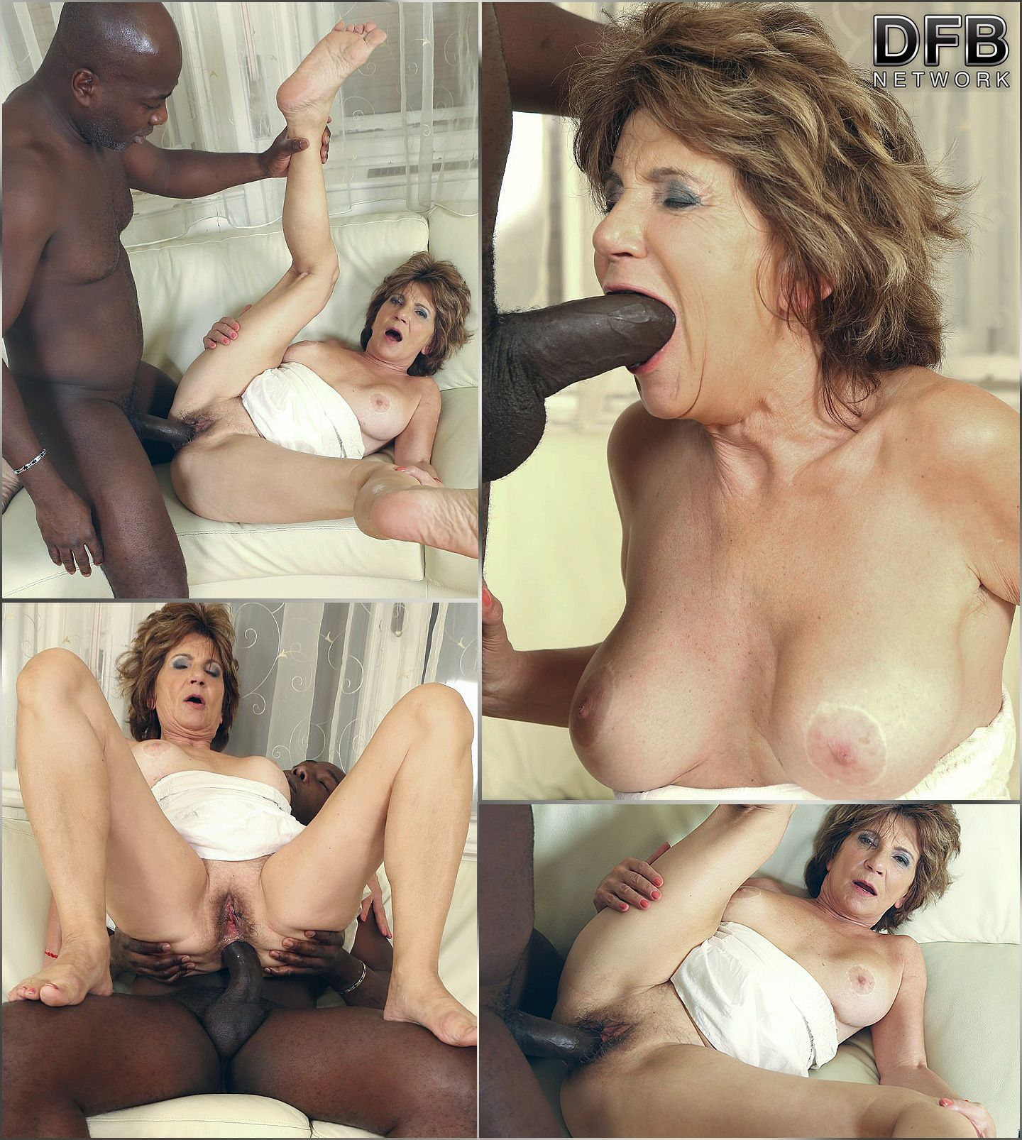 hot granny ass full with black dick - dfb network