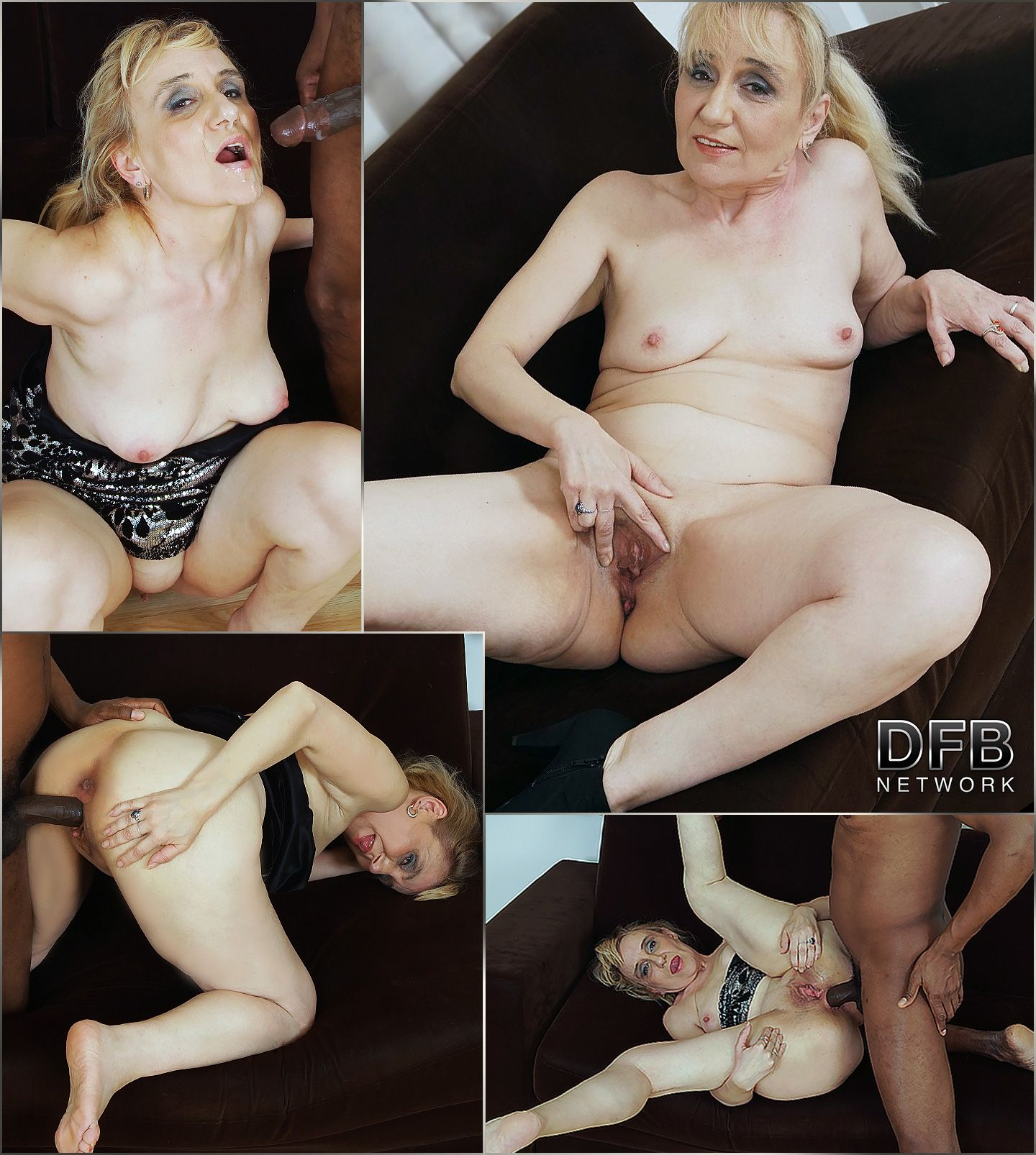 granny gets cum in her mouth