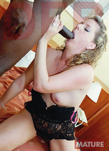 DFB Network - Mature babe doggy fucked by a black man