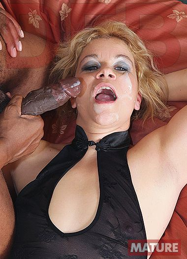 DFB Network - Hard interracial fuck for slutty cougar