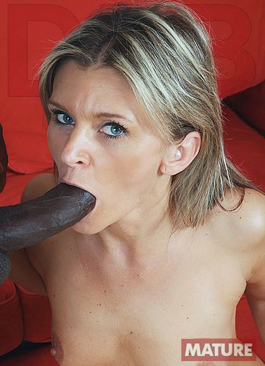 DFB Network - Hot mature blonde interracial anal fuck