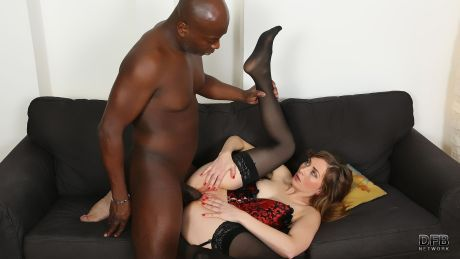 Sexy milf fucked by big black cock