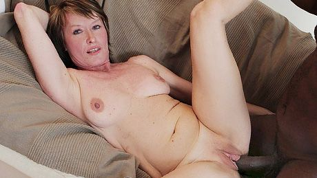 Cougar loves to suck big black cock